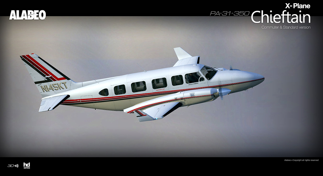 Alabeo - PA31 Chieftain 350 XP